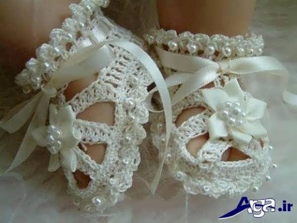 کفش بچه گانه دخترانه سفید
