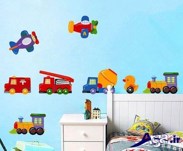 استیکرهای زیبا برای اتاق کودک