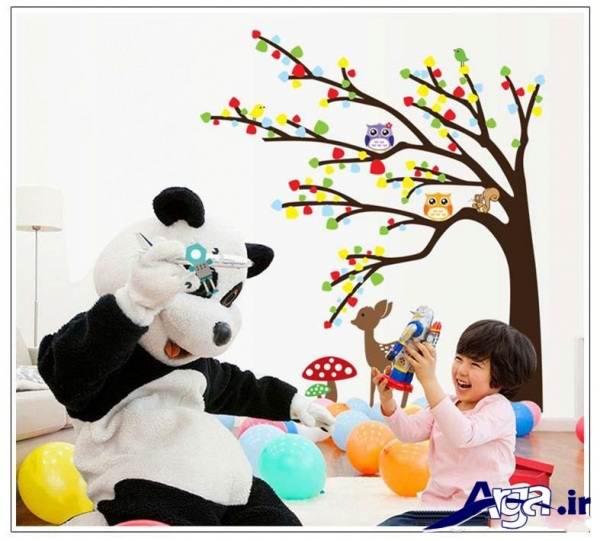 مدل استیکر اتاق کودک