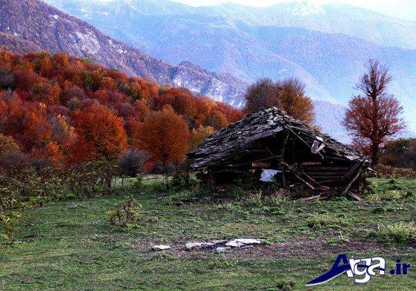 عکس منظره پاییز ایران