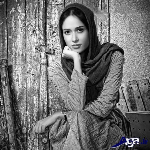 عکس سیاه سفید پریناز ایزدیار