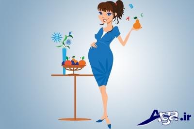 فواید گلابی برای زنان باردار