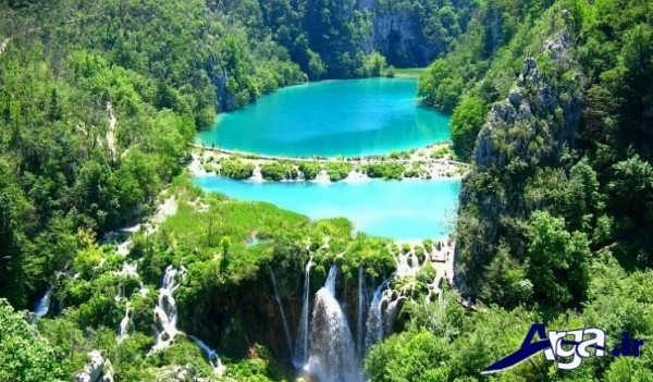 عکس آبشار کروتیا