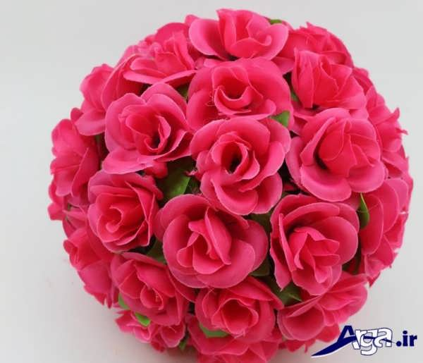 عکس دسته گل عروس رز