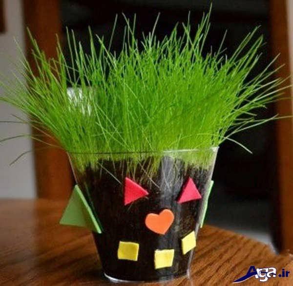 سبزه عید با گندم