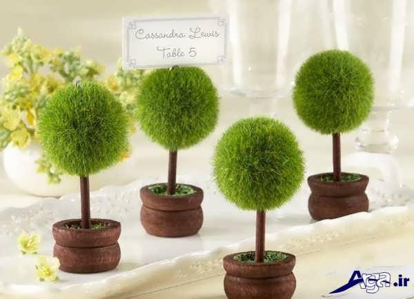 سبزه عید طرح درختچه