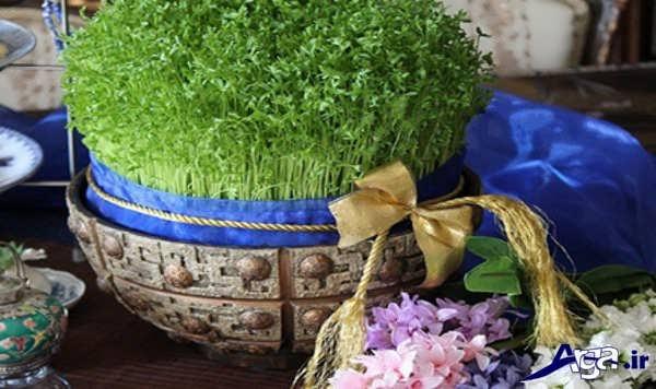سبزه سفره هفت سین
