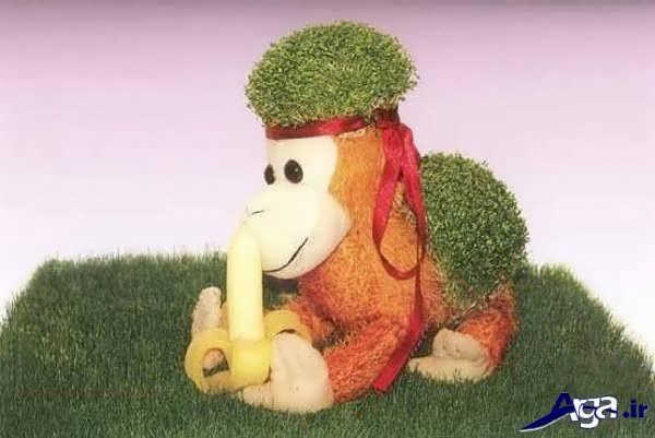سبزه سال میمون