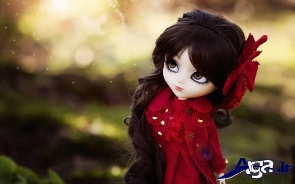 عکس عروسک تنها