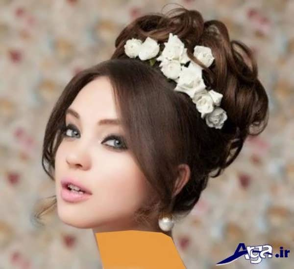 شینیون مدل موی فرحی جذاب
