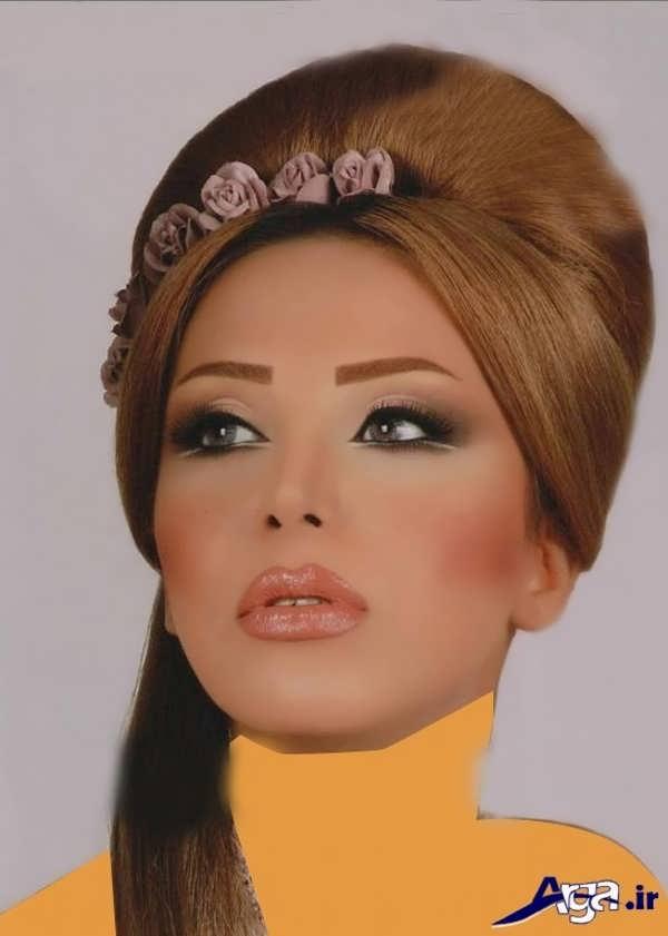 شینیون موی دخترانه مدرن