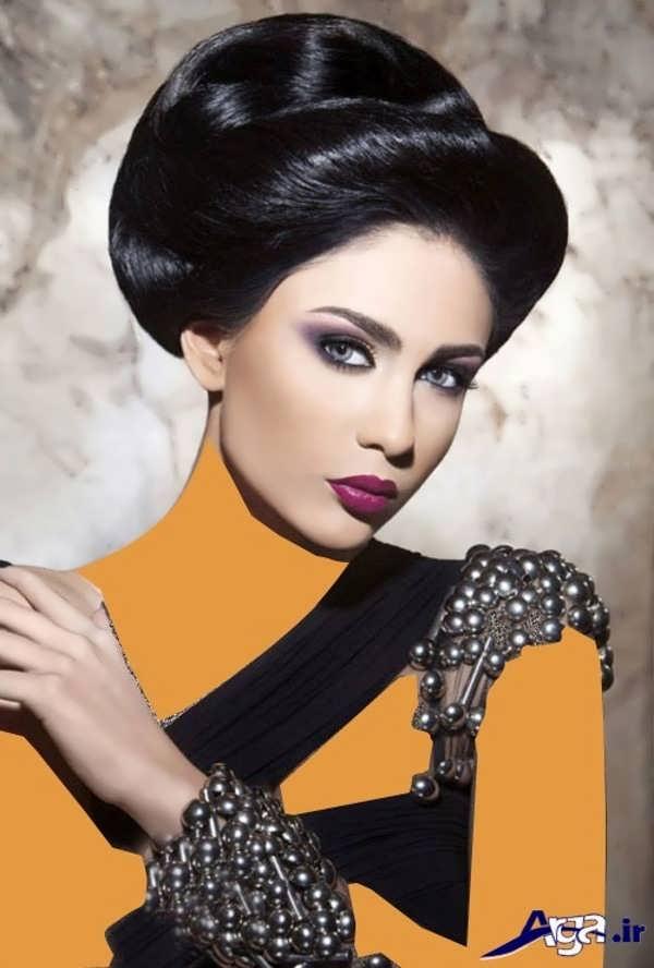 شینیون مدل موی فرحی زنانه
