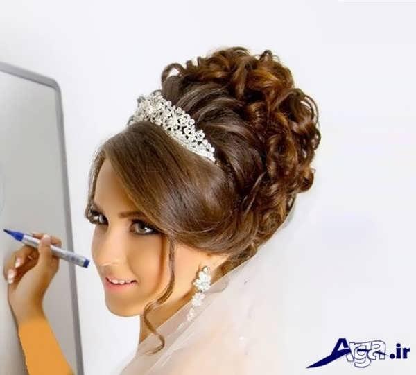 مدل موی فرحی عروس