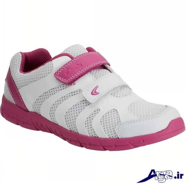 مدل کفش اسپرت دخترانه سفید