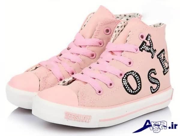 مدل کفش اسپرت دخترانه صورتی