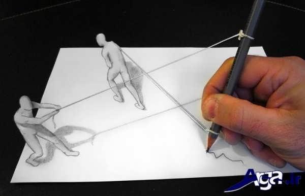 نقاشی های سه بعدی جدید