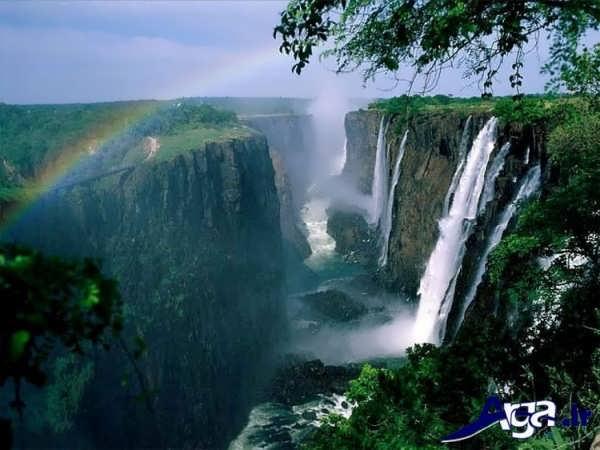 عکس آبشار ویکتوریا