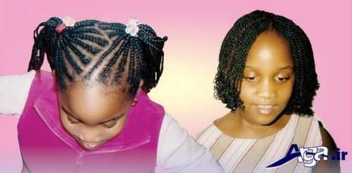 آموزش بافت مو آفریقایی