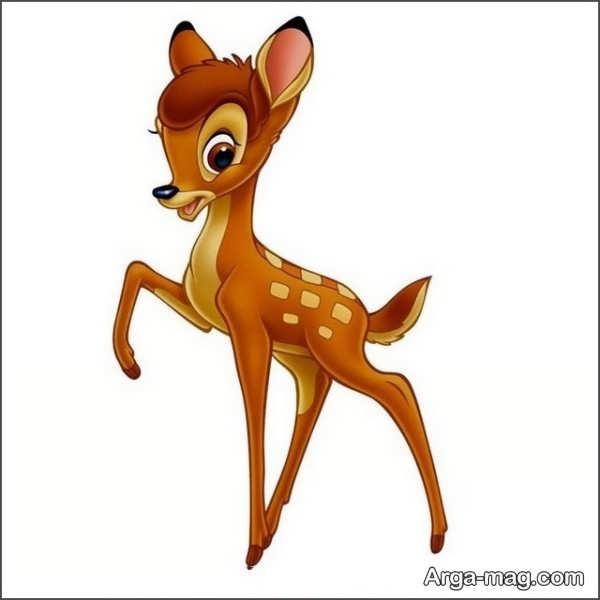 نقاشی حیوان های جنگل