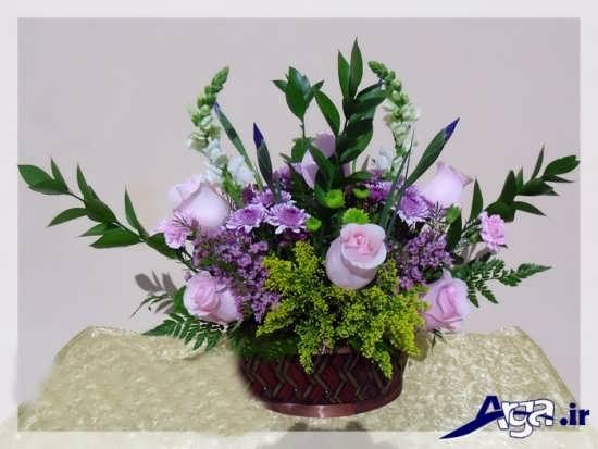تزیین انواع سبد گل
