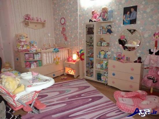 تزیین سیسمونی و اتاق نوزاد دختر