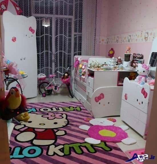 تزیین اتاق نوزاد برای جشن سیسمونی