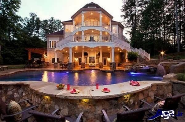 خانه زیبا و شیک