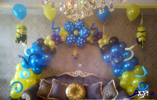 تزیین زیبای اتاق تولد