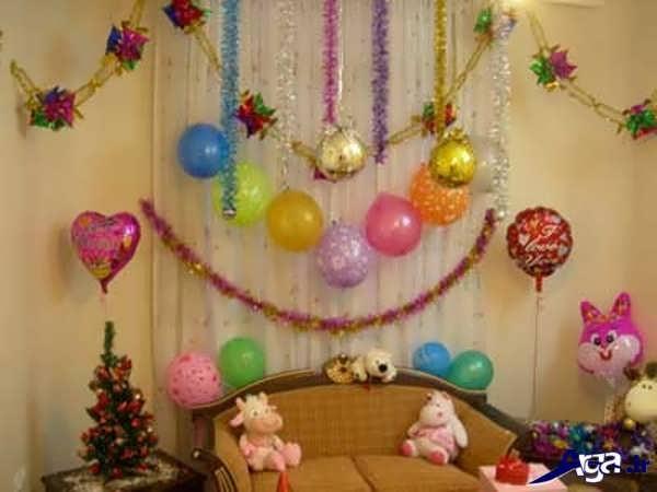 تزیینات خانه برای جشن تولد