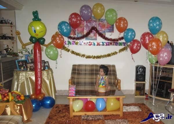 تزیین خانه برای تولد