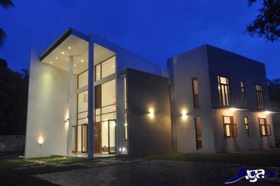 نورپردازی خارجی ساختمان های مسکونی