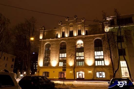 نورپردازی نمای خارجی ساختمان