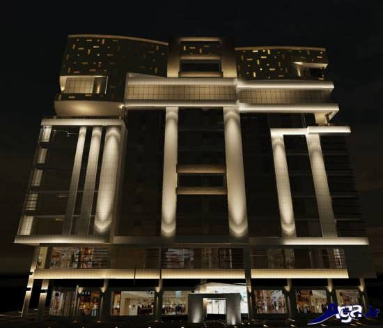نمای بیرونی ساختمان های ایرانی