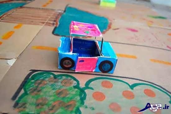 کاردستی خلاقانه برای کودکان