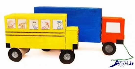 کاردستی جدید و خلاقانه برای کودکان
