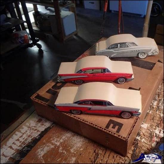 نحوه عروسک ساخت انواع کاردستی ماشین با مقوا و کاغذ رنگی