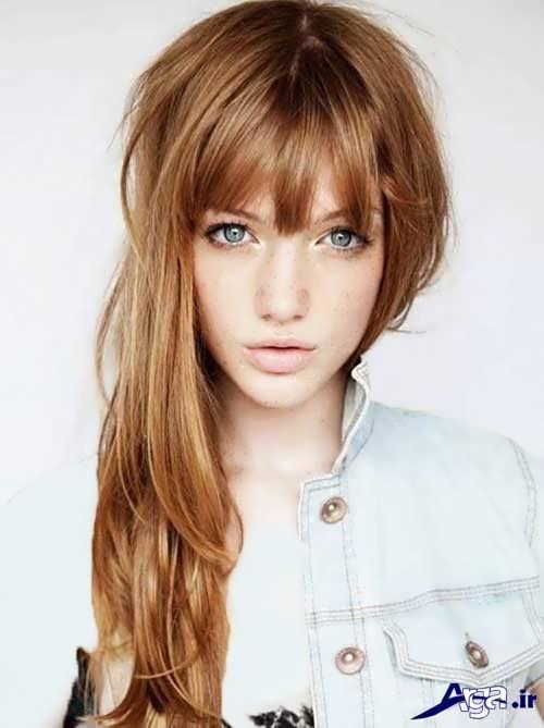 رنگ موی کارامل قهوه ای یا زیبا
