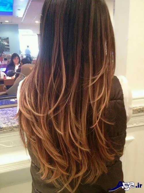رنگ موی قهوه ای کاراملی
