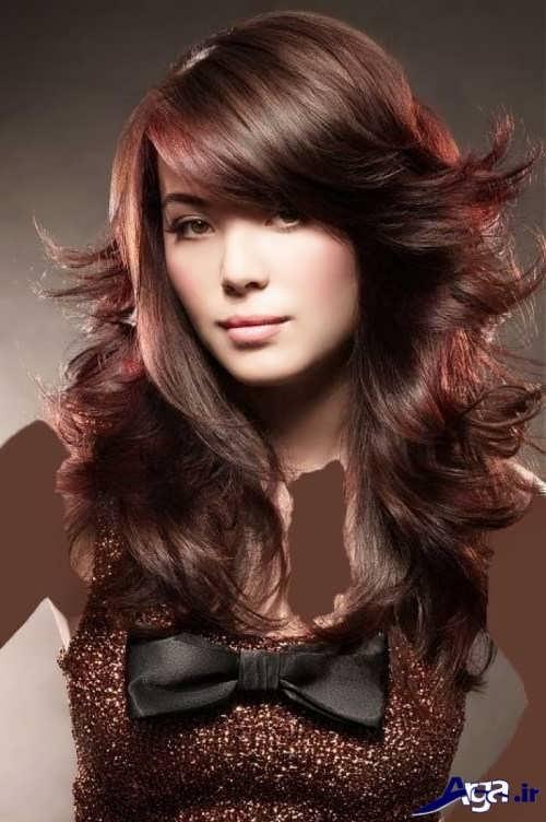 انواع فرمول های ترکیبی رنگ موی بلوطی