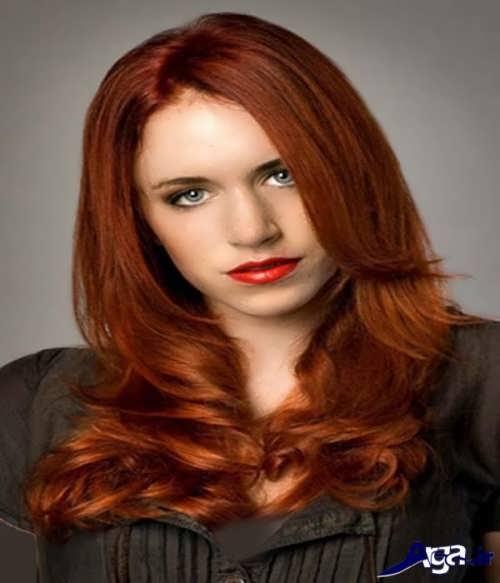رنگ موی بلوطی