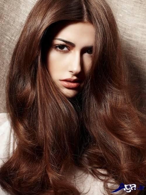 مدل مو و رنگ موی بلوطی