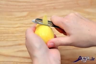 ورقه کردن سیب زمینی