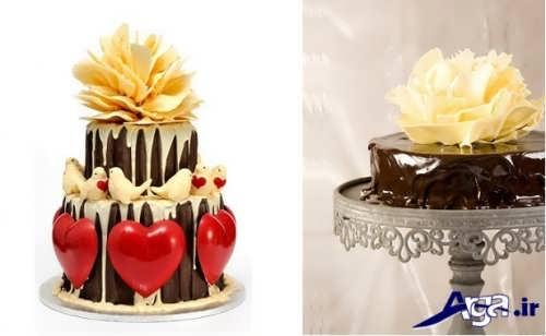 انواع مدل های تزیین کیک شکلاتی