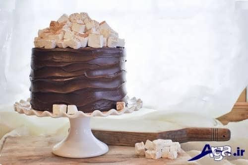 مدل تزیین کیک با ایده های جالب
