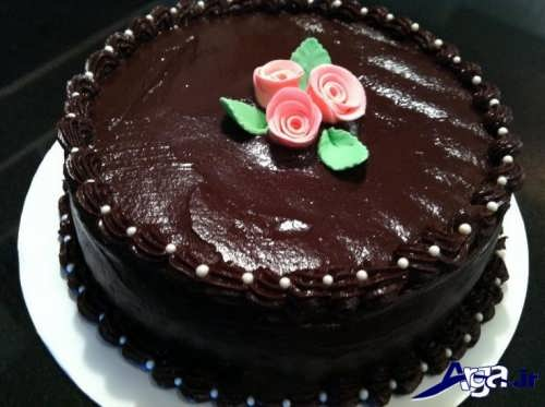 Chocolate cake decoration (22)