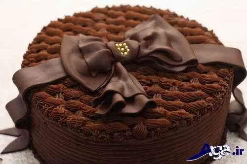 Chocolate cake decoration (23)