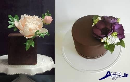 انواع مدل تزیین کیک شکلاتی