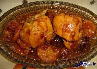 روش پخت مرغ مجلسی با ساده ترین روش