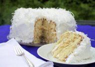طرز تهیه کیک نارگیلی با بهترین روش