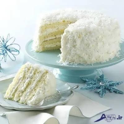کیک نارگیلی با طعمی بی نظیر